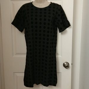 Ann Taylor polka dot mini dress size S - NWT